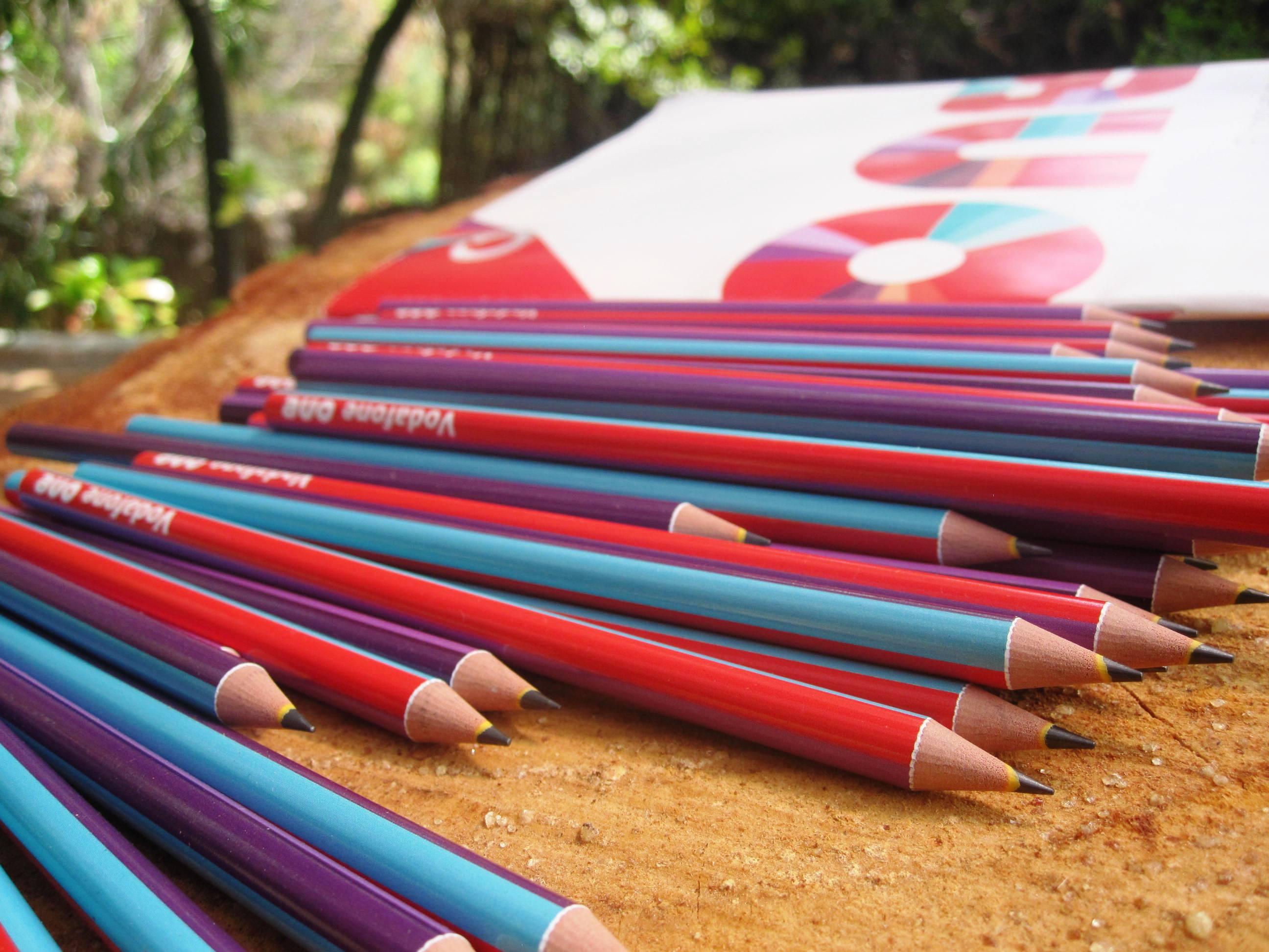 Lápices impresión 360º