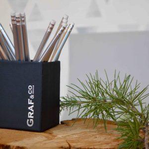 cubilete lápices personalizados