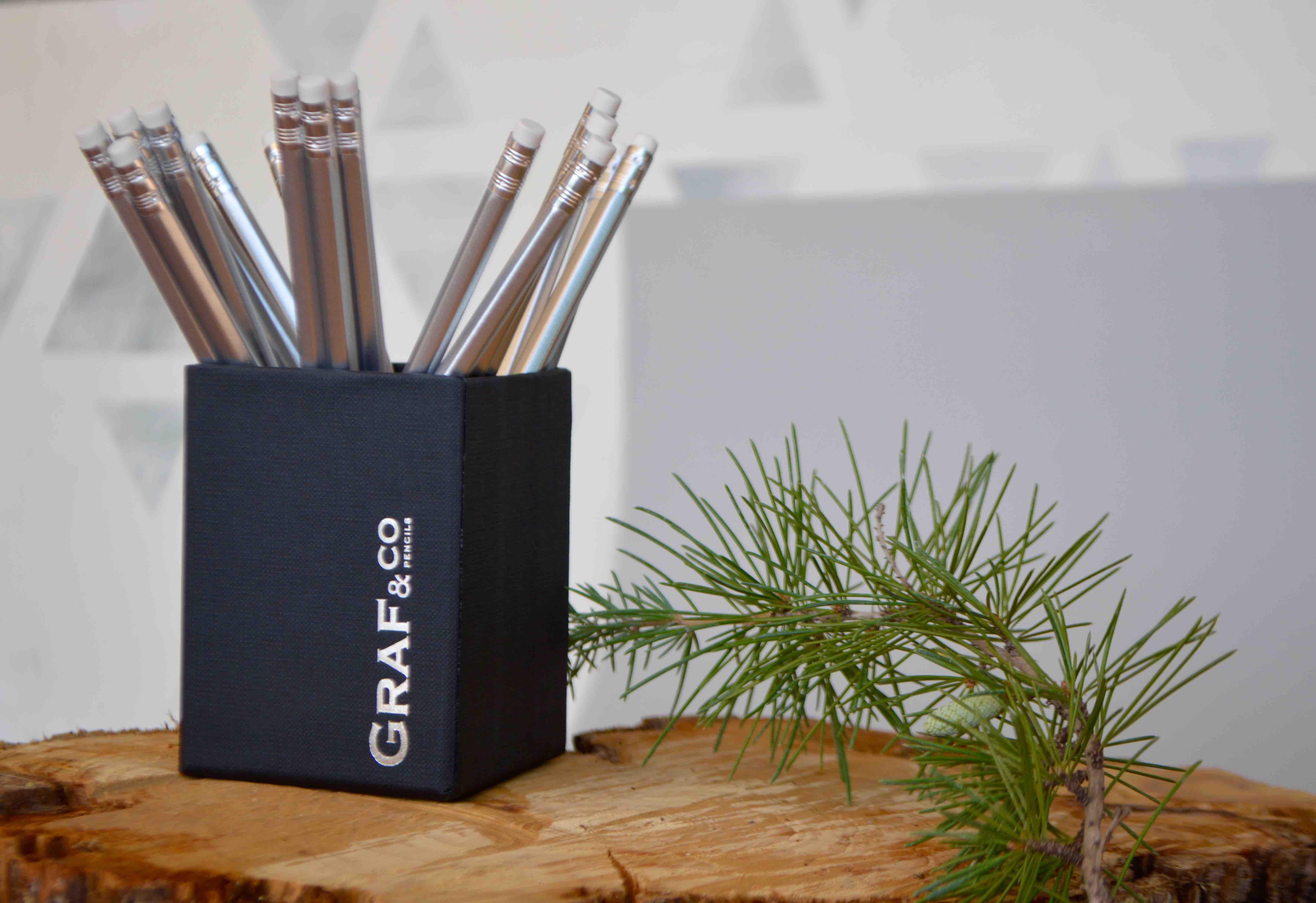 Cubilete de lápices personalizados