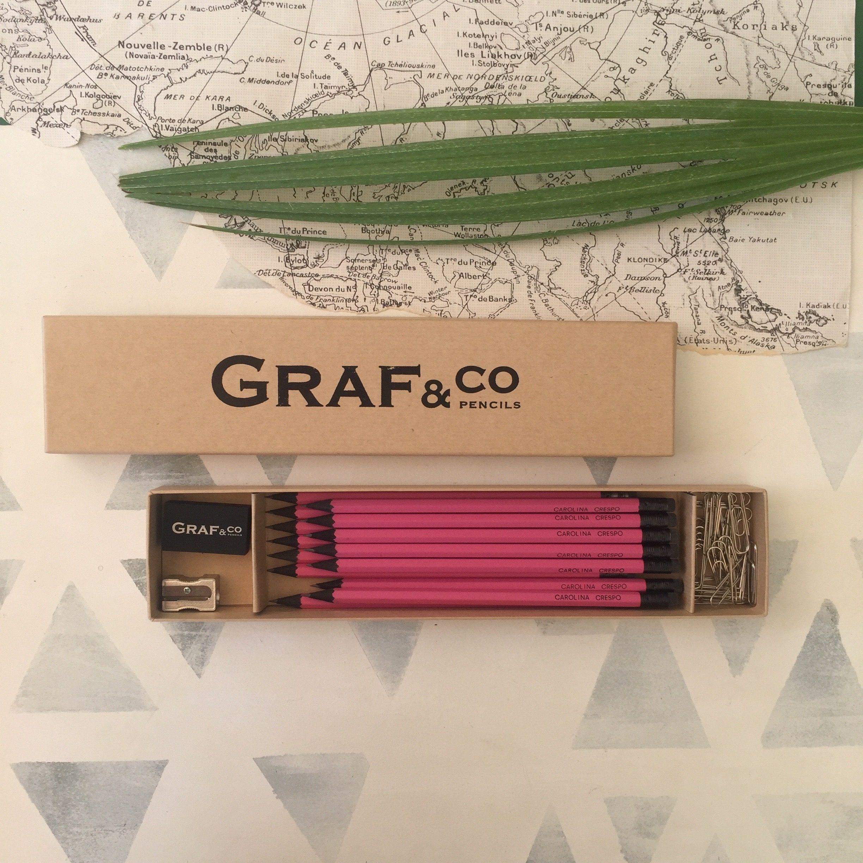 Caja escritorio con Lápices personalizados Los Ángeles