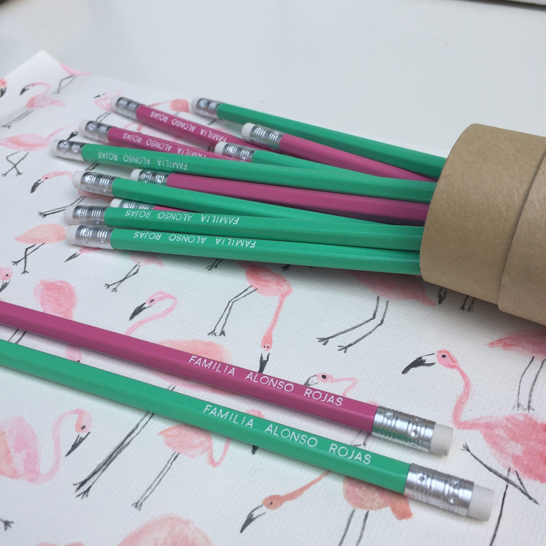Lápices personalizados para toda la familia